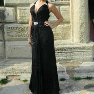 Black Prom Dress/ Evening Gown